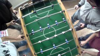 Foosball doubles final game @Globant