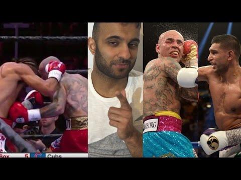 Keith Thurman beats Collazo but fails to outshine Amir Khan