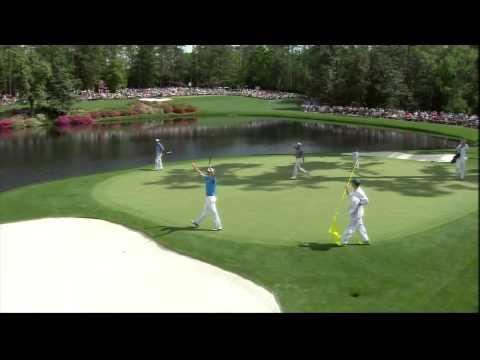 Impresionante hoyo en uno de Jack Nicklaus en Augusta