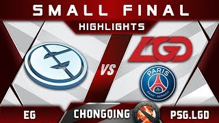 EG vs PSG.LGD [EPIC TOP 3] Chongqing Major CQ Major Highlights 2019 Dota 2