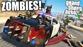 GTA 5 ZOMBIES APOCALIPSE CAP 3  !!