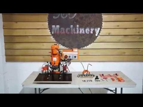 delta 13 spindle line boring machine