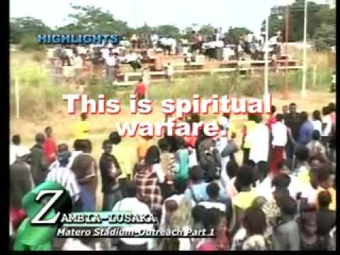 Pastor Tshifhiwa Irene - Devil Worshipper Disarmed, Lusaka, Zambia