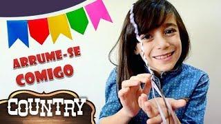 ARRUME-SE COMIGO PARA FESTA JUNINA (Mas deu ruim...) ★ Get Ready with me - Roupa em Estilo Country