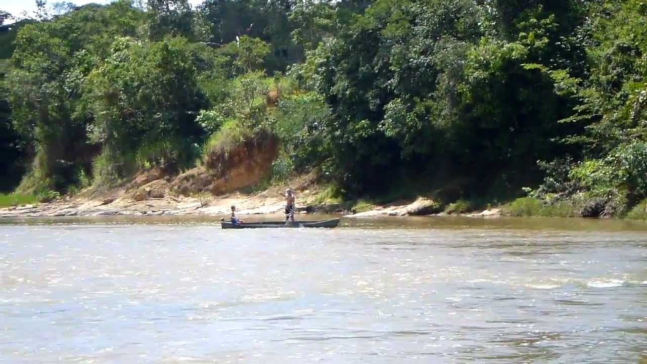 Fazenda Mangabeira Pescador No Rio Piratinga Buritis