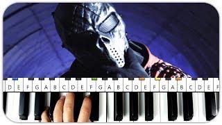 Diablo 63 - MASKEM Instrumental Beat + Piano Tutorial MIDI Enstrümental