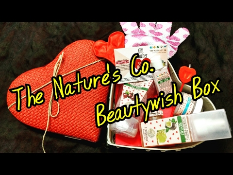 *NEW* Nature's Co. Beauty Wish Box February 2017  Unboxing   Review   Cupid Box   Valentines Gifting