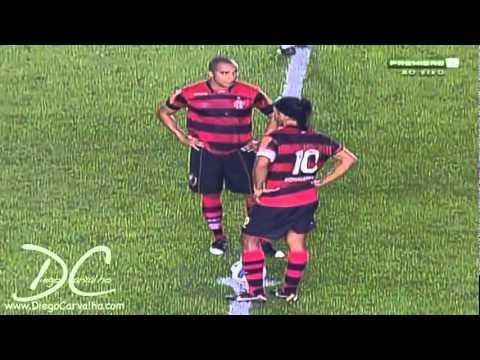 Golazo De Neymar Vs Flamengo.