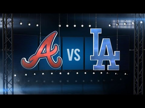 6/4/16: Kershaw, Dodgers blank Braves at home for win