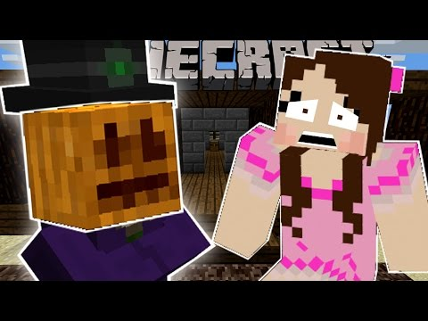 Minecraft: HALLOWEEN MANIA! (THE PUMPKIN MASTER & HAUNTED HOUSES!) Custom Command