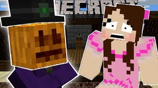 Minecraft: HALLOWEEN MANIA! (THE PUMPKIN MASTER & HAUNTED HOUSES!) Custom Command