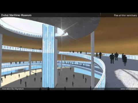Dubai Maritime Museum ANIMATION test 06