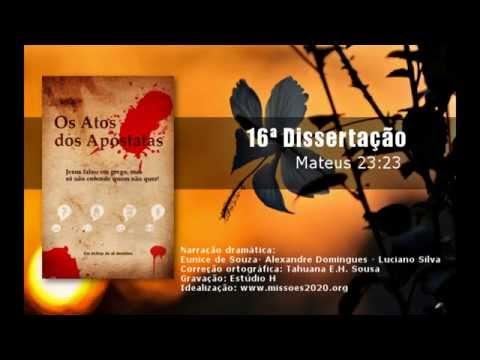 Áudio-book: Os Atos dos Apóstatas - 16ª Dissertação