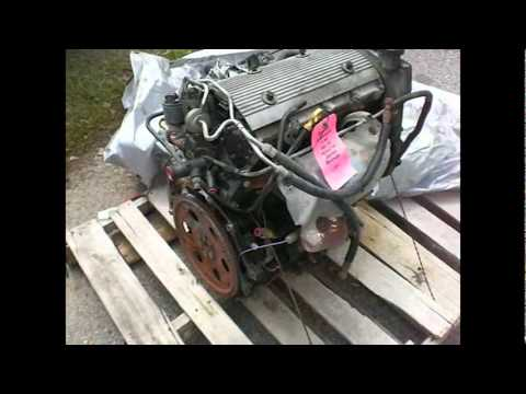 1999 Pontiac Grand AM SE 2.4L Engine Removal