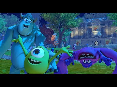 Disney Infinity - Monsters University Play Set - Part 13