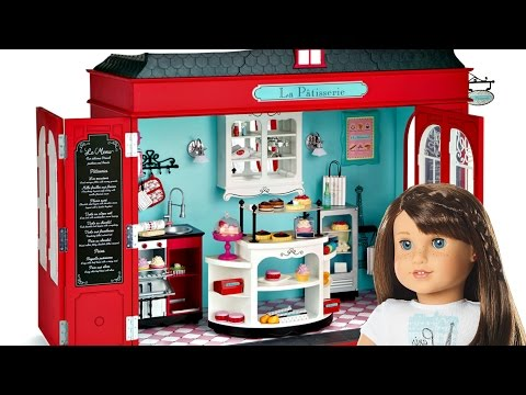 American Girl Doll Grace's French Bakery Playset Review thumbnail
