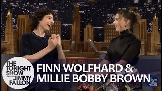 Finn Wolfhard & Millie Bobby Brown Talk Stranger Things Season 3