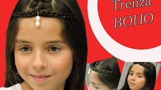 Trenza Bohemia Paso a Paso -  Boho Braid - Ideal para niñas y adultas  - Boho Braid Step by Step