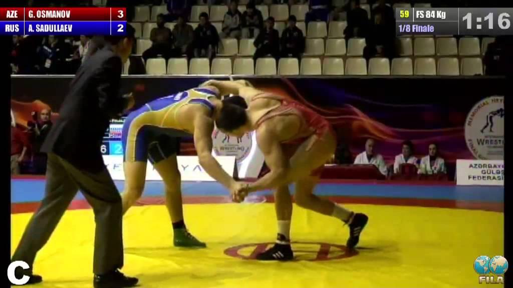 GGP2013 / Hamzat OSMANOV (AZE) - SADULLAEV Abdulrashid (RUS) - FS ...