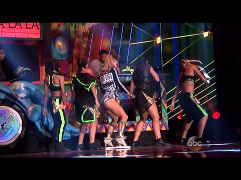 Fergie feat  YG – L A LOVE la la (Live American Music Awards 2014)