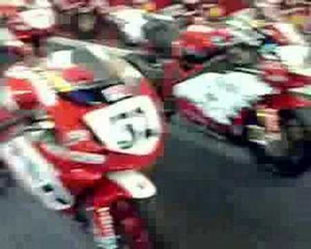 The amazing race Ducati collection of Tony O'Neill Video