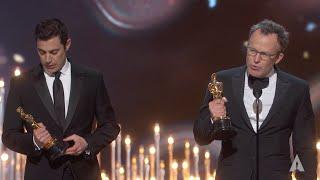 """Spotlight"" winning Best Original Screenplay"