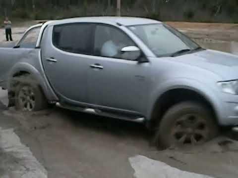 Mitsubishi Triton Offroad Test