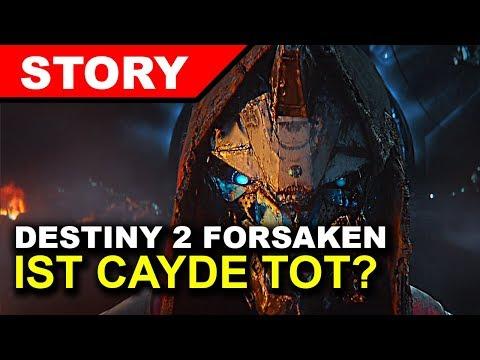 Warum Cayde endgültig Tot ist! ERKLÄRUNG ►Destiny 2 Forsaken Story thumbnail
