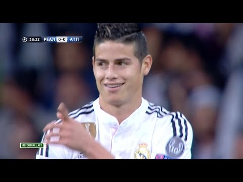 James Rodriguez vs Atletico Madrid Home UCL (22/04/2015) HD 1080i by James10i
