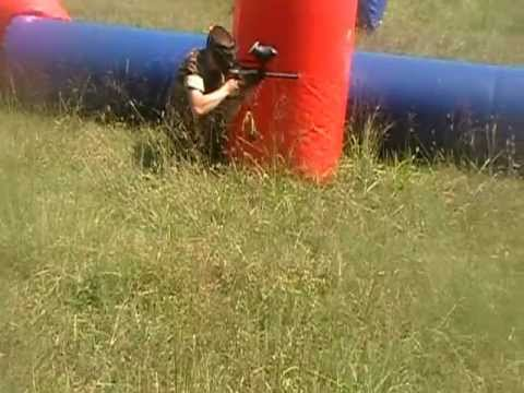 Paintball at Hargrave Military Academy