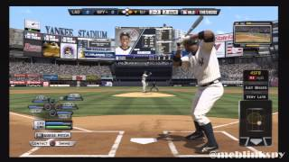 MLB 12 The Show Gameplay Yankees Season 1 - Game 1 Dodgers