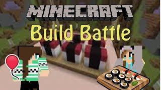 Download Lagu Minecraft | Build Battle! (SUSHI!) w/Friends Gratis STAFABAND