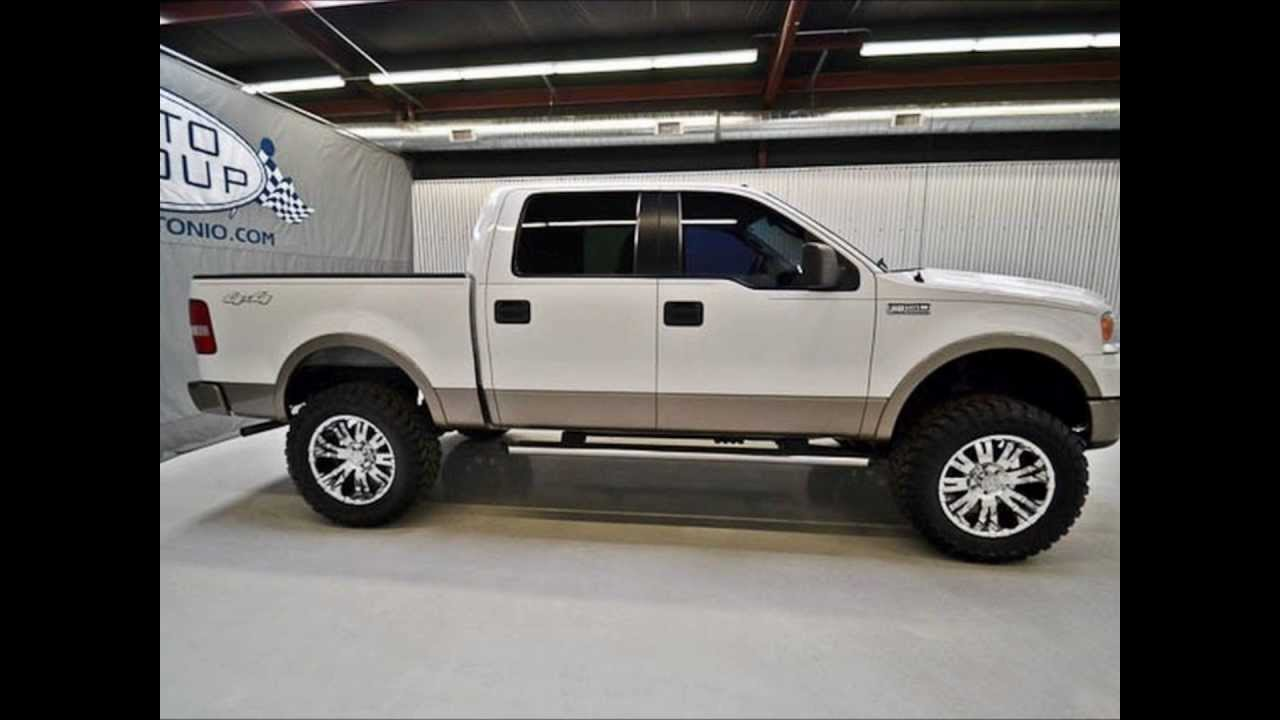 2006 ford f150 super crew lariat 4wd lifted truck for sale youtube. Black Bedroom Furniture Sets. Home Design Ideas