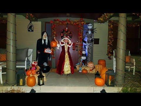КОНФЕТЫ или ЖИЗНЬ первый ХЕЛЛОУИН / ПРИЗРАК в ДОМЕ Николь и Алиса в ШОКЕ Ходим по страшным домам