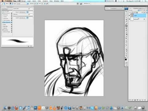 Tutorial 01, part 1: digital head sketching -- Yellow Tracksuit Entertainment (Jin Han)