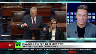 Senators' spying fears unfounded as trade war rages – Ben Swann