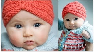 Download KNITTING TUTORIAL - BABY TURBAN 3Gp Mp4