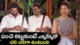 Venkatesh Make Fun With Jhansi at F2 Movie Team interview | Varun Tej | Tamanna | Filmylooks