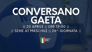 Serie A1M [24^]: Conversano - Gaeta 32-26
