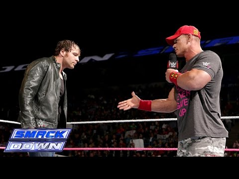 The Authority interrupts a truce between John Cena and Dean Ambrose: SmackDown, Oct. 3, 2014