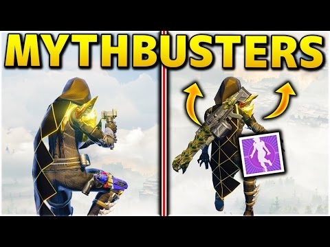 DESTINY MYTHBUSTERS! - USING AN EMOTE MAKES YOU JUMP HIGHER!? - DESTINY MYTHBUSTERS GAMEPLAY
