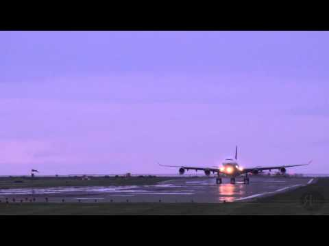 2015-04-26: Philippine Airlines Airbus A340-300's Arrival at YVR