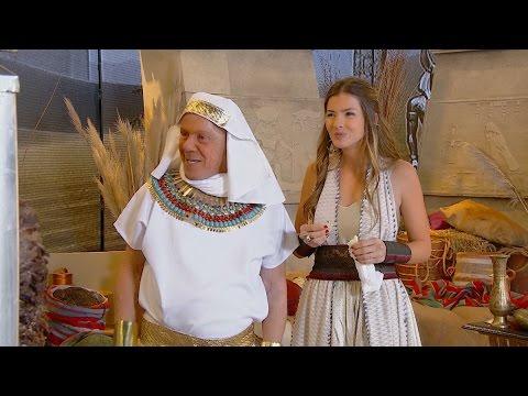 """¡La palta llegó a Egipto! Susana y La """"China"""" Suarez en un gran sketch"""