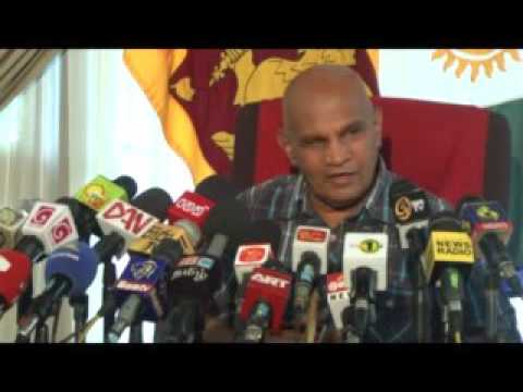Governor's Media Conference on Jaffna University Students Issue
