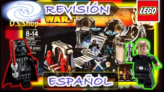 LEGO Star Wars Duelo Final en Death Star 75093 Review y Unboxing
