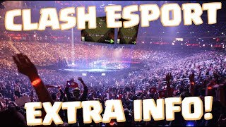 EXTRA INFO ABOUT CLASH OF CLANS MILLION $ WORLD CHAMPIONSHIP ESPORT | Mister Clash