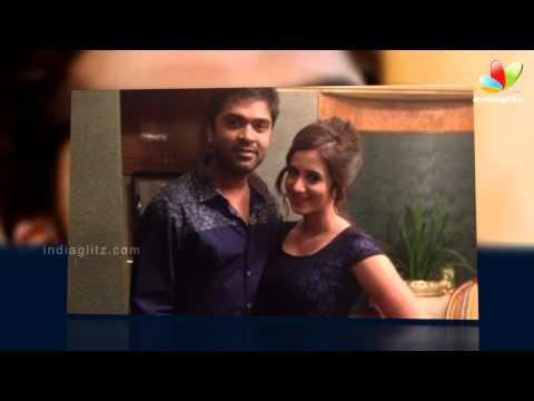 Simbu is a gentleman - Harshika | Liplock Video | Hot Tamil...