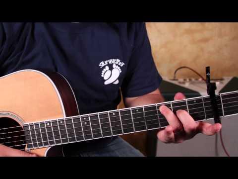 Darius Rucker - Wagon Wheel - Old Crow Medicine Show - How To Play On Guitar Easy