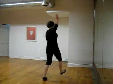 Swing Dance Classes in Toronto - Vintage Jazz Routine from September 9th, 2009