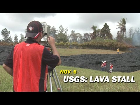 Lava Stall Explanation From USGS at Pahoa Meeting (Nov. 6)